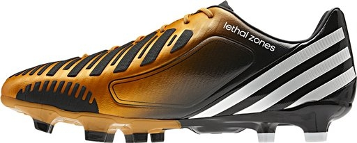 Adidas Predator LZ TRX FG Soccer Cleats (Bright Gold White Black) 86e2c2906c