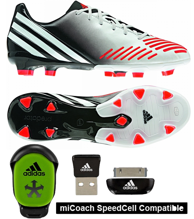 innovative design f7d30 1b698 Soccer Cleats   Adidas Predator Absolion LZ in White and Black   V20989   Adidas  Predator   FREE SHIPPING   Predator Absolion LZ Soccer Cleats ...