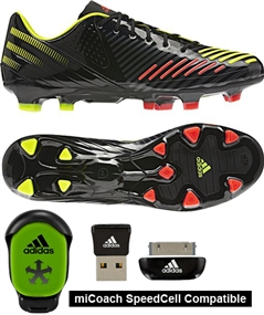 on sale 68ae1 5620a Adidas Predator LZ TRX FG SL Soccer Cleats (Black Electricity Infrared)