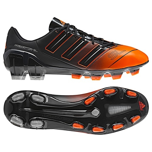 Adidas adiPower Predator SL TRX FG Soccer Cleats (Phantom/Warning/Metallic  Silver)