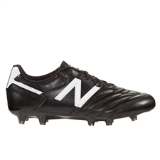 New Balance 442 Team 2E (WIDE) FG Soccer Cleats (Black/White)