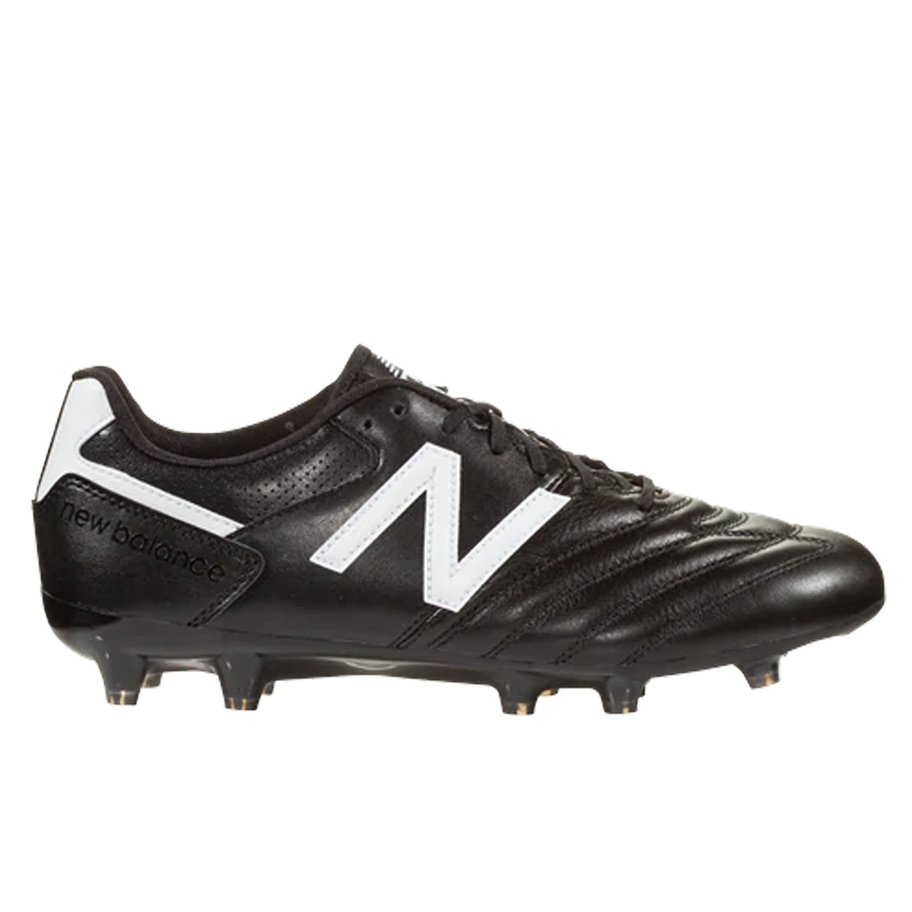 a019b4ef5876a New Balance 442 Team 2E (WIDE) FG Soccer Cleats (Black/White) | New ...