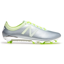 New Balance Furon 2.0 Hydra Limited Edition FG Soccer Cleats (Silver Mink/White/Vivid Cactus)