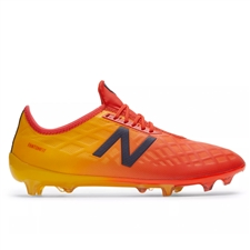 New Balance Furon 4.0 Pro FG Soccer Cleats (Flame/Aztec Gold)