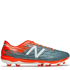 New Balance Visaro Pro FG WIDE 2E Soccer Cleats (Typhoon/Alpha Orange)