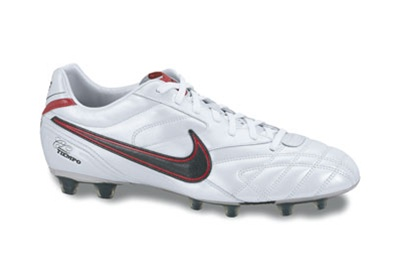 low priced 9b83d 3f9b8 Nike Tiempo Classic Lite Firm Ground Cleats (White/Sport Red/Seaweed)
