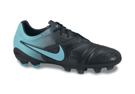 Nike CTR360 Trequartista Firm Ground Shoes (Black/RetroTurq)