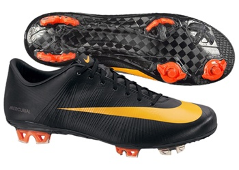 brand new de4ce 91f13 Nike Mercurial Superfly II Elite FG Soccer Cleats (Black/Circuit Orange)