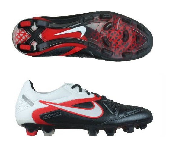 CTR360 Maestri II FG Soccer Cleats (Black/Challenge Red/White