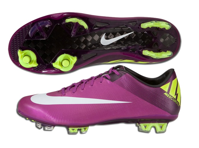 official photos 27f6c f8aa5 Nike Mercurial Vapor Superfly III Elite FG Soccer Cleats (Red  Plum/Windchill/Volt/Black)