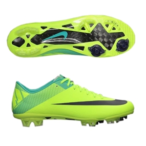 huge sale cfcdd 8b5fb Nike Mercurial Vapor Superfly III Elite FG Soccer Cleats  (Volt Retro Imperial Purple