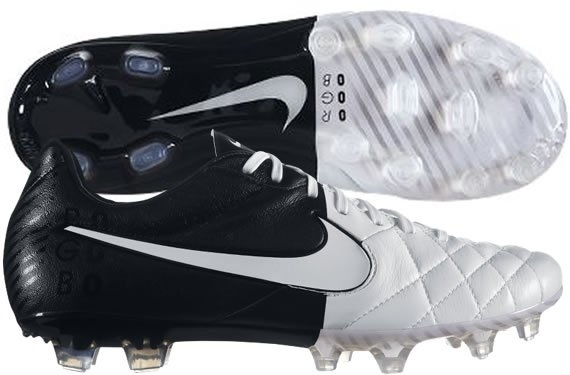 best service 476d4 cfd06 Nike Tiempo Legend IV FG Soccer Cleats (White/Black/White)