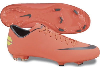 on sale 7b7ea b5314 Nike Mercurial Victory III FG Soccer Cleats (Bright Mango/Challenge  Red/Mtlc Dark Grey)