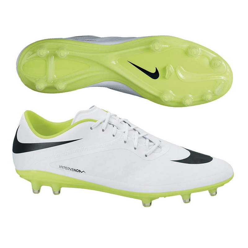 nike hypervenom white and green