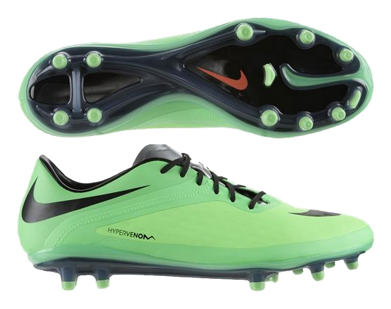 separation shoes 60633 b3c44 Nike Hypervenom Phatal FG (Neo Lime Poison Green Metallic Silver Black)