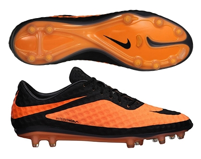 huge discount 0c96f 59417 Nike Hypervenom Phantom FG Soccer Cleats (Black Bright Citrus)