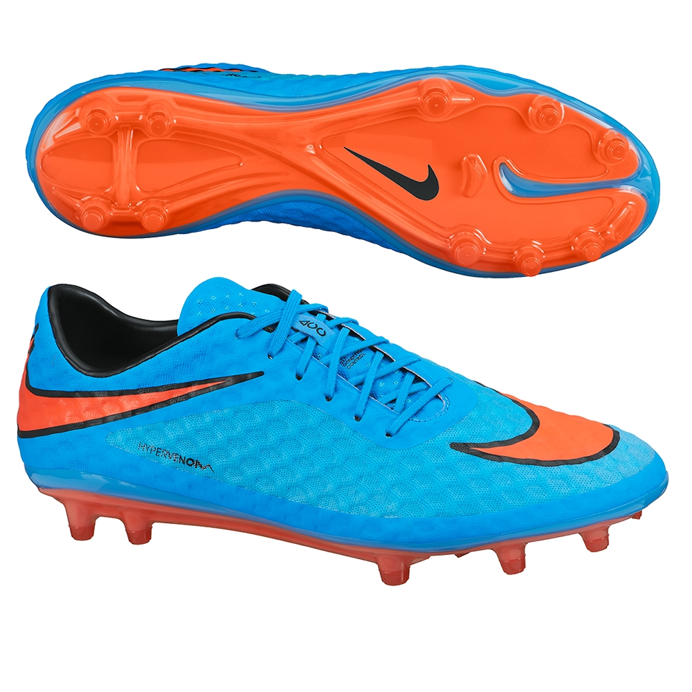 design unico New York scarpe originali Nike Hypervenom Phantom FG Soccer Cleats (Clearwater/Blue Lagoon)