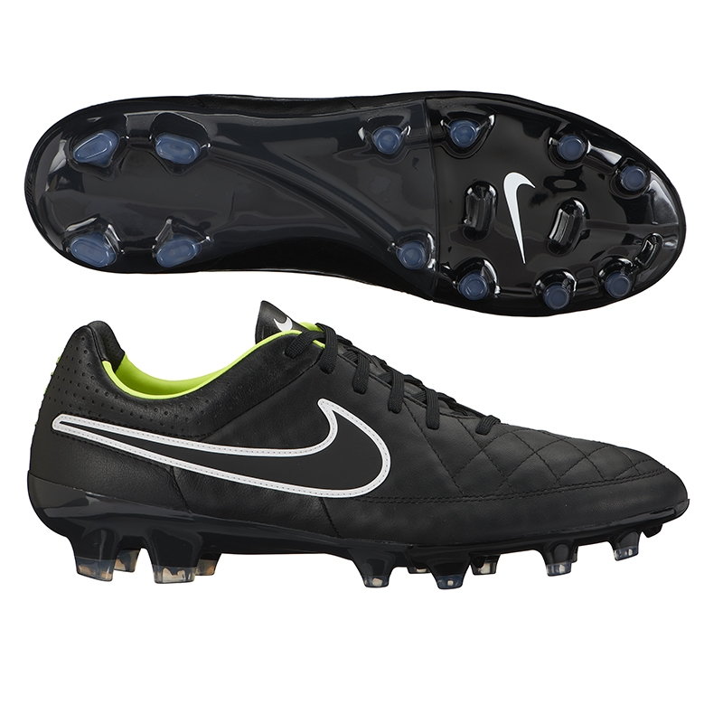 new style c76b5 273a0 Nike Tiempo Legacy FG Soccer Cleats (Black/Volt/White)