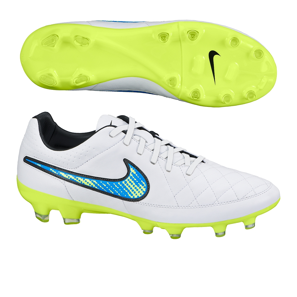 Nike Tiempo Legacy SG Men's Football Boots White/Volt/Soar