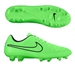 Nike Tiempo Legacy FG Soccer Cleats (Green Strike/Black)
