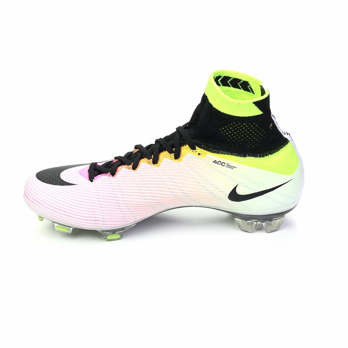 bd10f7485647 Mercurial SuperFly IV FG Soccer Cleats (White Volt Total Orange ...
