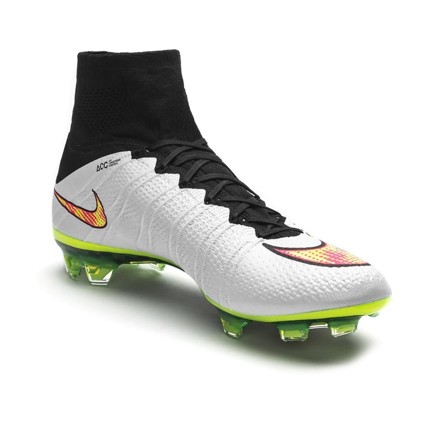 247.49 - Nike Mercurial SuperFly IV FG Soccer Cleats (White Black ... 43a2c54db