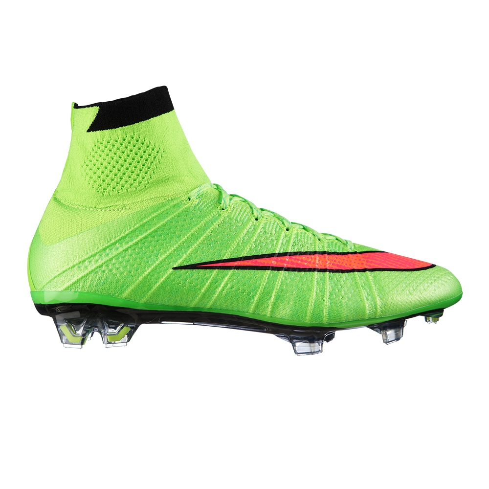 05c7305e9 Nike Mercurial SuperFly IV Soccer Cleats (Electric Green Volt Black Hyper  Punch)