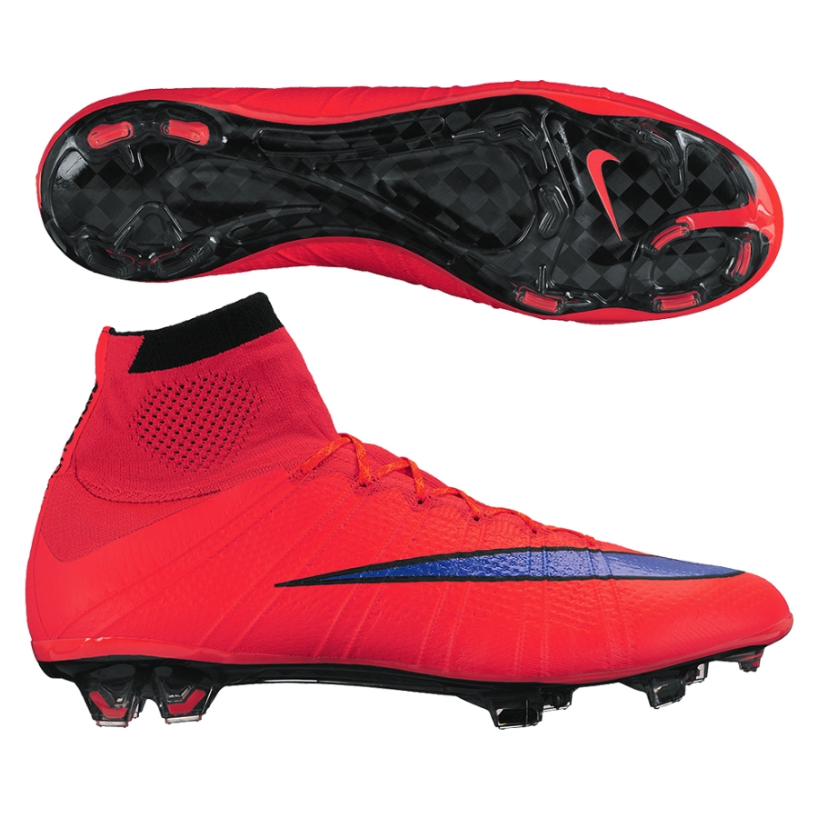 new style 72f5e 11bb0 Nike Mercurial SuperFly IV FG Soccer Cleats (Bright Crimson/Violet)