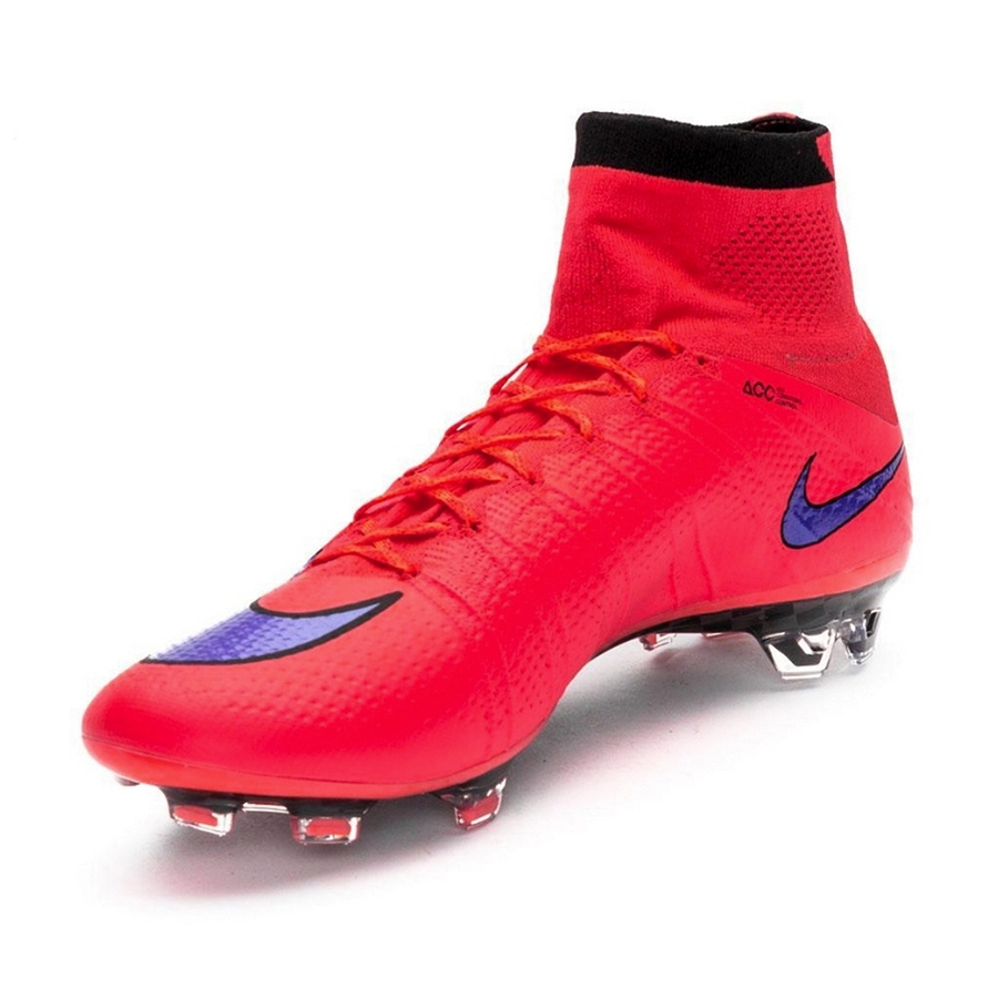new style 815c8 dc615 Nike Mercurial SuperFly IV FG Soccer Cleats (Bright Crimson/Violet)