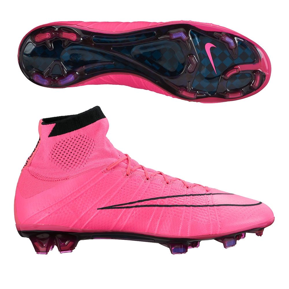 huge discount 7d0fe bd0b3 Nike Mercurial SuperFly IV FG Soccer Cleats (Hyper Pink/Black)