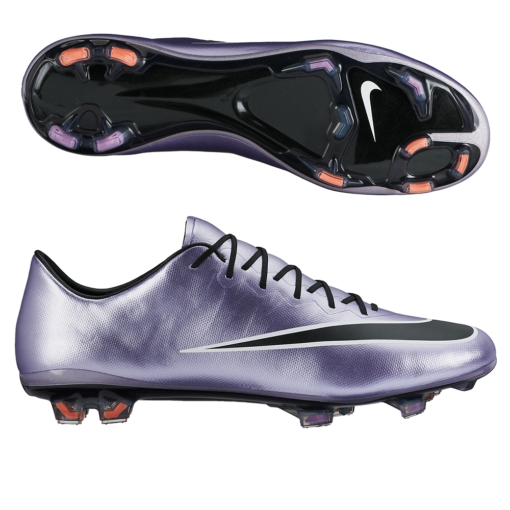 fc58797c0 Details about Nike Mercurial Vapor X Firm Ground Cleats 648553-580 Soccer  Shoe  200