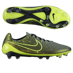 Nike Magista Opus FG Soccer Cleats (Dark Citron/Black/Volt)
