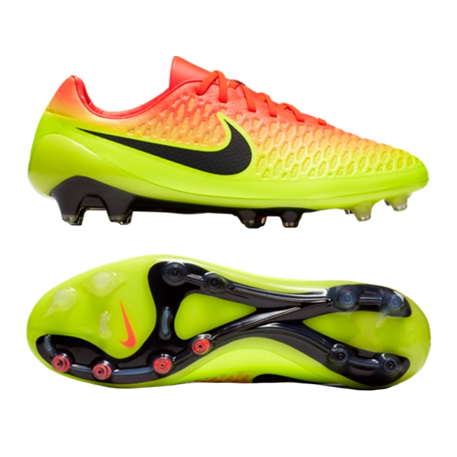 7683218e5 Nike Magista Opus FG Soccer Cleats (Total Crimson Black Volt Bright ...