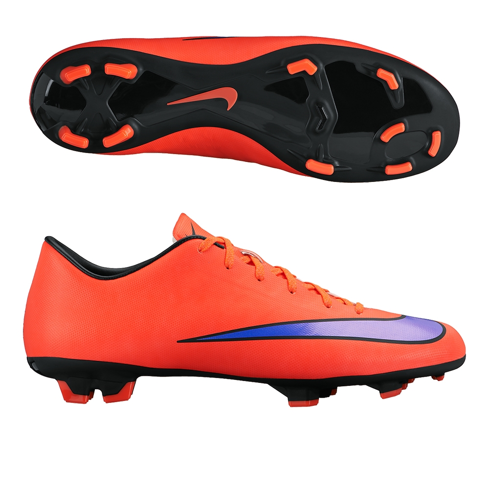 25be8422f Mercurial Victory V FG Soccer Cleats (Bright Crimson Persian Violet ...