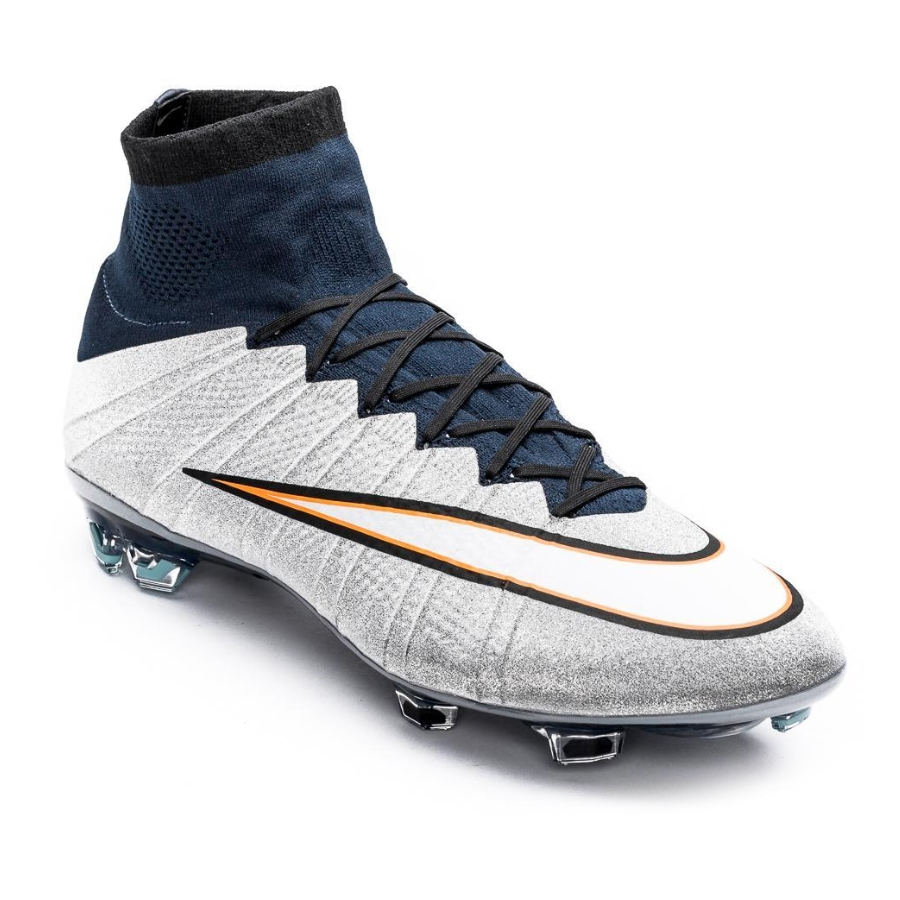 huge selection of 3eef8 a2ad0 nike mercurial superfly iv silver