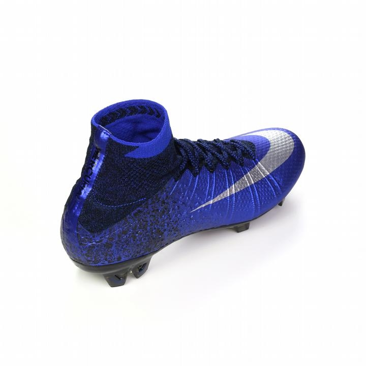 1309138c7a Mercurial SuperFly IV CR7 FG Soccer Cleats (Deep Royal/Racer Blue ...