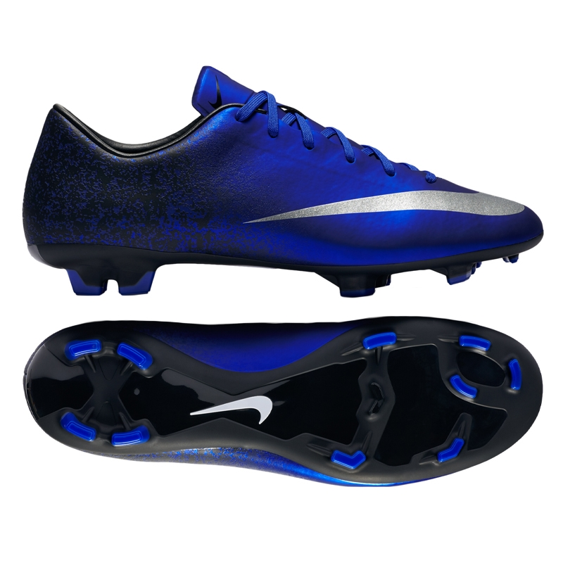 Mercurial Victory V CR7 FG Soccer Cleats in Deep Royal  174bb9bb0