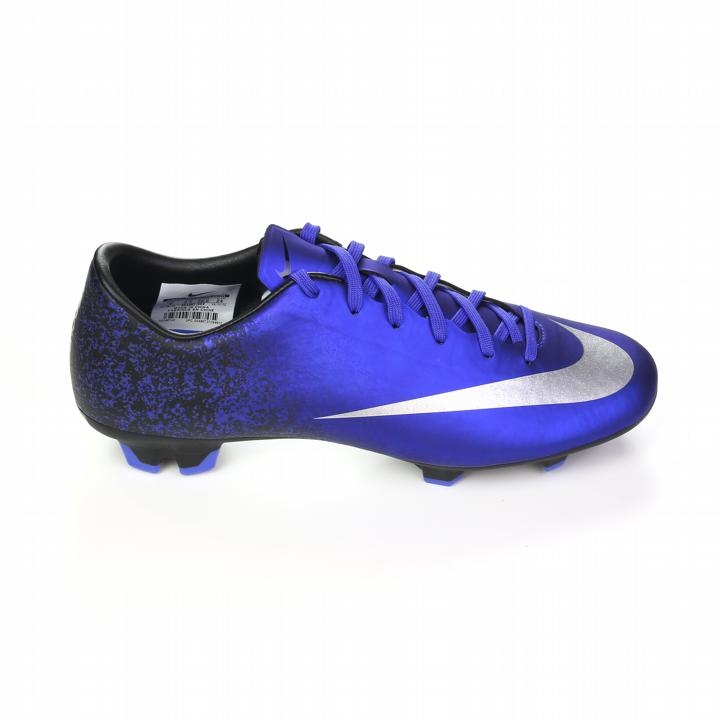 bba3322c7 Nike Mercurial Victory V CR7 FG Soccer Cleats (Deep Royal Blue Racer Blue  Black Metallic Silver)
