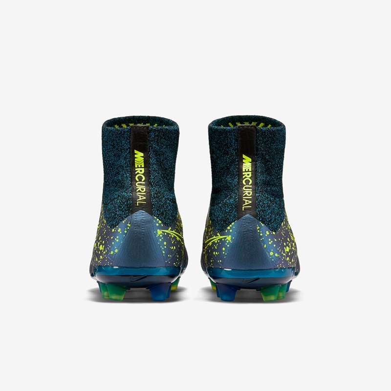 ddbed88f6044 Nike Mercurial SuperFly IV AG-R Soccer Cleats (Squadron Blue/Black/Volt)