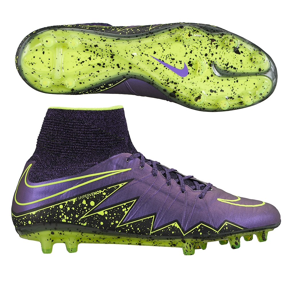 a80500a02c10 Hypervenom Phantom II FG Soccer Cleats (Hyper Grape Black)
