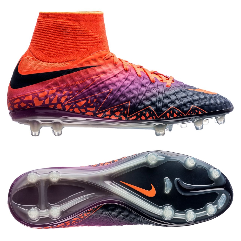 huge selection of b5f1b 0068b Nike Hypervenom Phantom II FG Soccer Cleats (Total Crimson/Obsidian/Vivid  Purple)