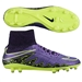 Nike Hypervenom Phatal II DF FG Soccer Cleats (Hyper Grape/Black/Volt)