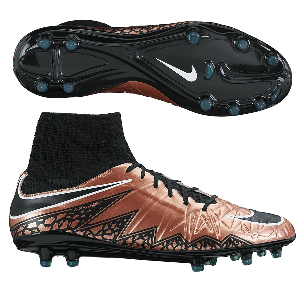 93687d199 Nike Hypervenom Phatal II DF FG Soccer Cleats (Metallic Red Bronze/Green  Glow/Black) | 747214-903 | Nike Soccer Cleats | SOCCERCORNER.COM