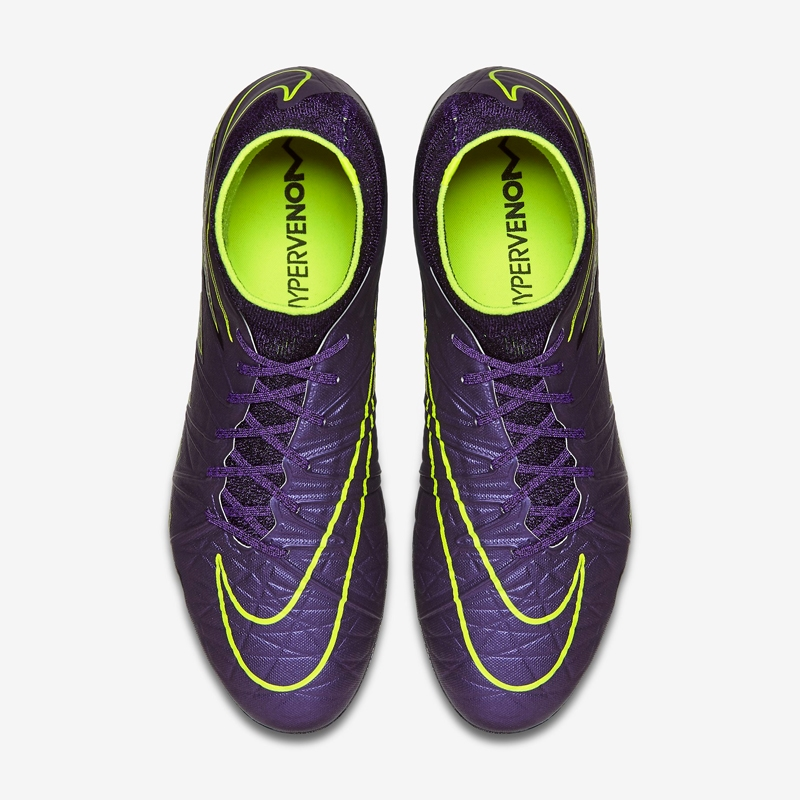 online store 780bd 37320 Nike Hypervenom Phantom II SG-Pro Soccer Cleats (Hyper Grape/Black/Volt)