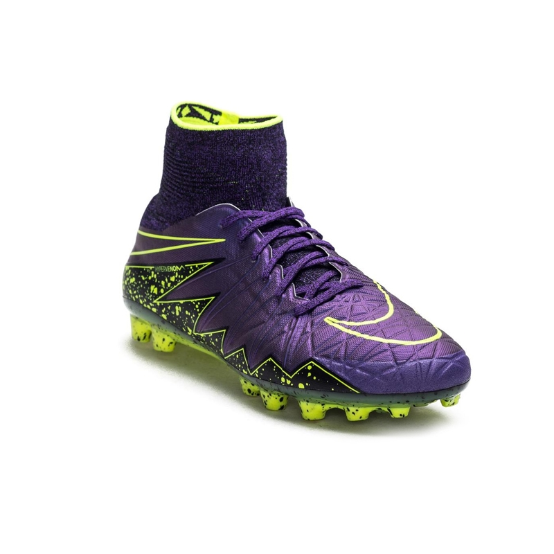 best service 4bbc2 1c7da Nike Hypervenom Phantom II AG-R Soccer Cleats (Hyper Grape Black Volt)
