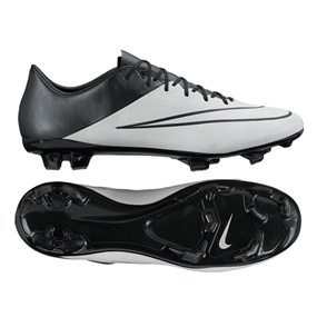 Nike Mercurial Vapor X Tech Craft (Leather) FG Cleats (Light Bone)