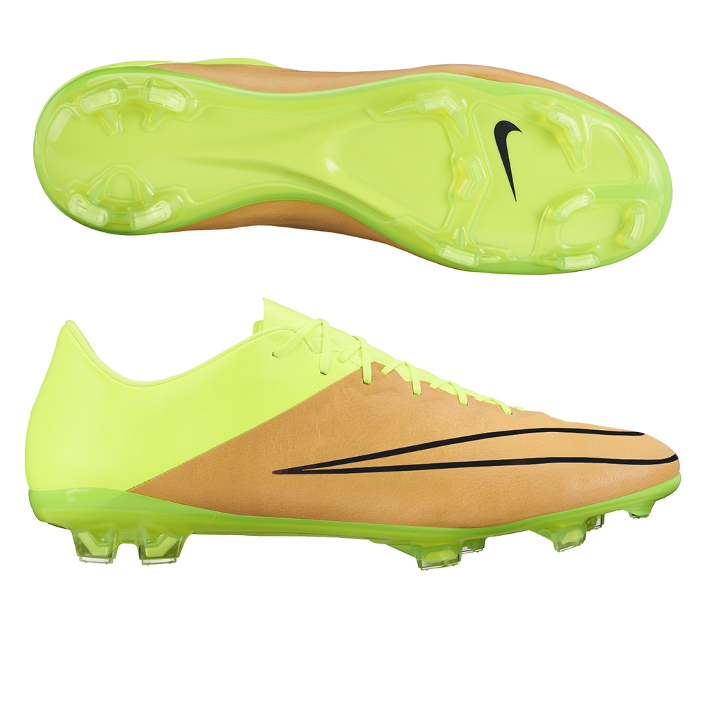 060cff45c Mercurial Vapor X Tech Craft (Leather) FG Cleats (Canvas Volt Black ...