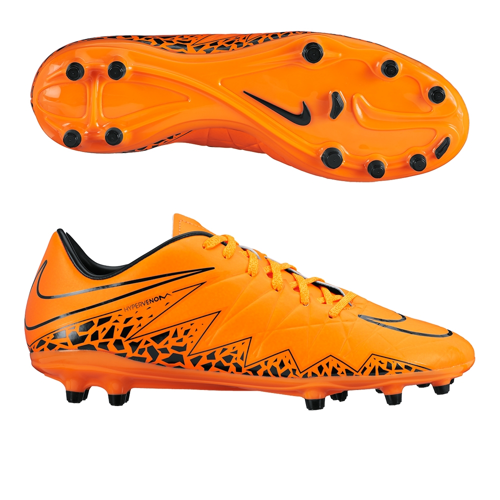 Nike Hypervenom Phelon II FG Firm-Ground Soccer Cleat - Total Orange/Black/Total Orange for Men V86h