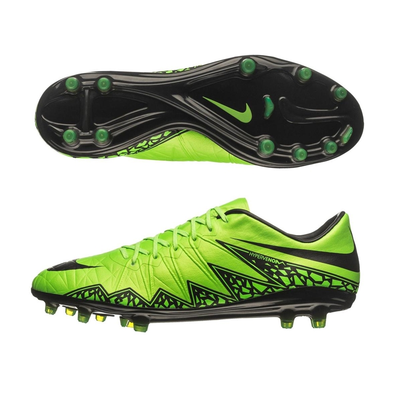 Nike Hypervenom Phinish FG Soccer Cleats (Green Strike/Black)