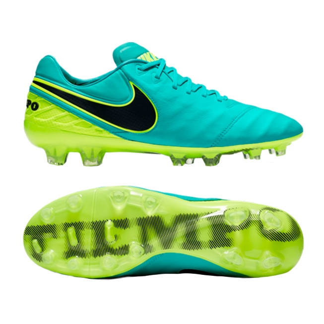 Nike Tiempo Legend VI Firm Ground Cleats [CLEAR JADE]